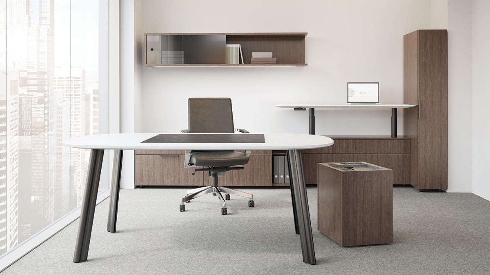 Meet aptos messerschmidt incorporated for Muebles de oficina knol