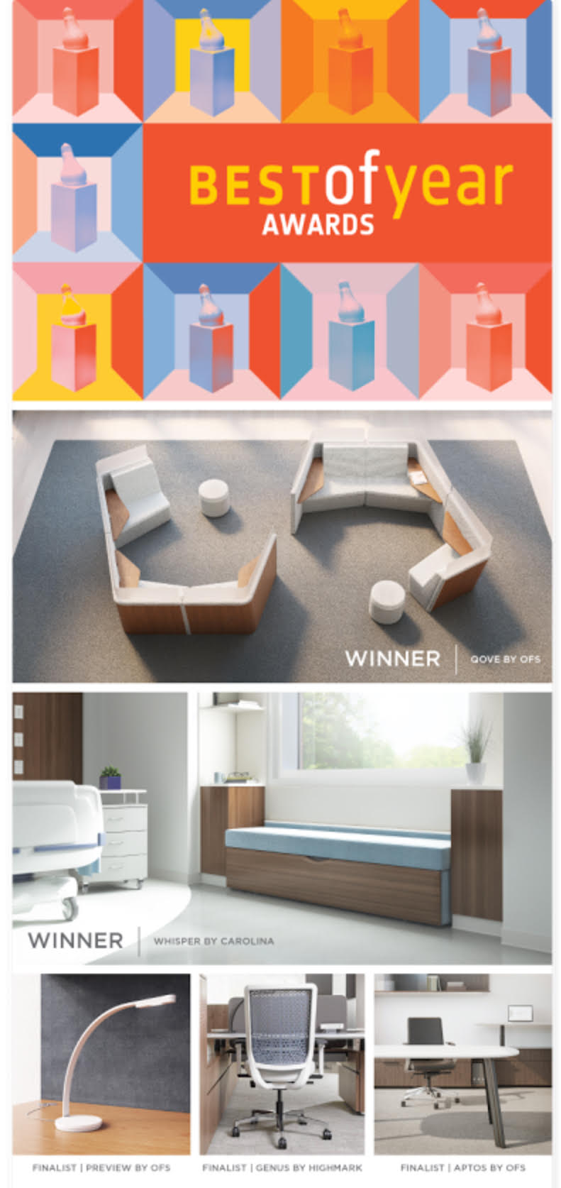 Best Of Year Awards By Interior Design Magazine Messerschmidt Incorporated
